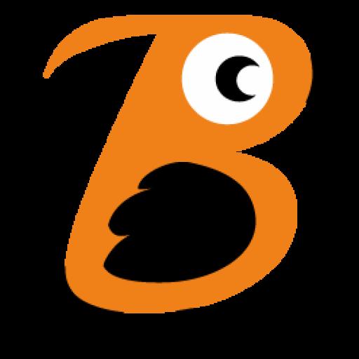 Orange Bird Icon 512x512