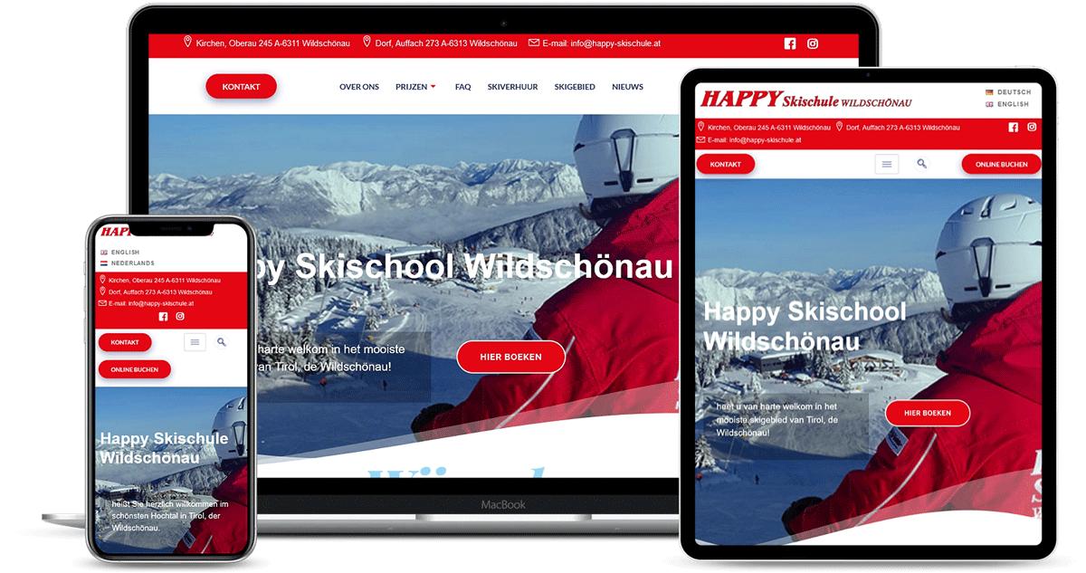 mockup happy skischule