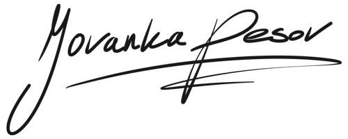 Unterschrift Jovanka Pesov